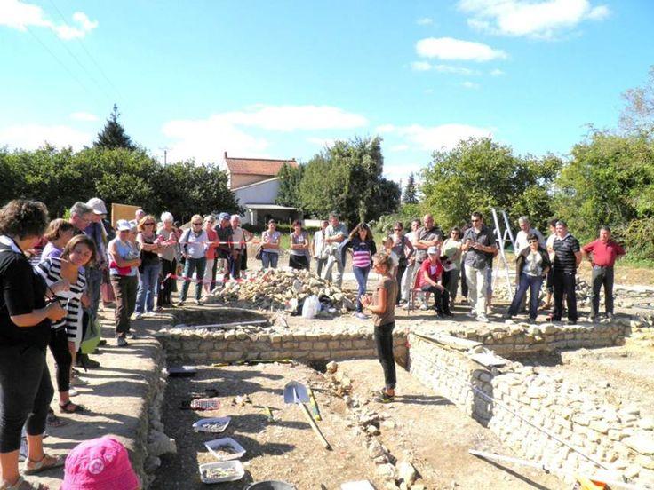 Le site archéologique à St Saturnin du Bois: visites guidées, ateliers, animations, spectacles...