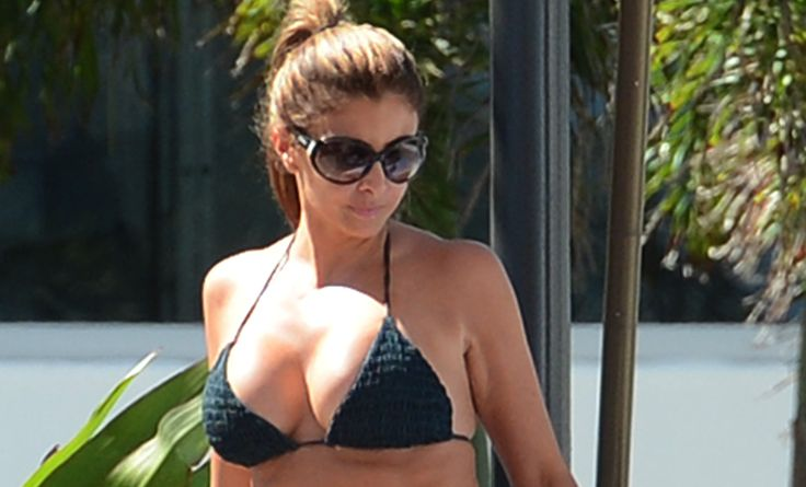 Scottie Pippen's Wife Larsa Pippen Works The Bikini in Miami!