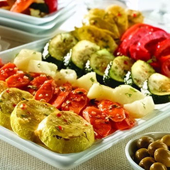 Roasted Vegetable Tapas - Oh yeah ... this is headed straight for the Christmas buffet table!