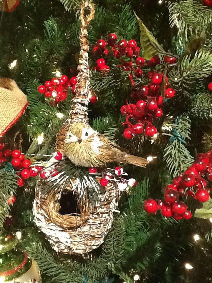 Christmas Tree Decorations Bird : Best images about bird nest decor on ana
