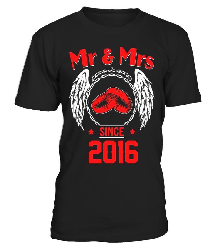 1st Wedding Anniversary Gifts T shirts for Husband for Wife