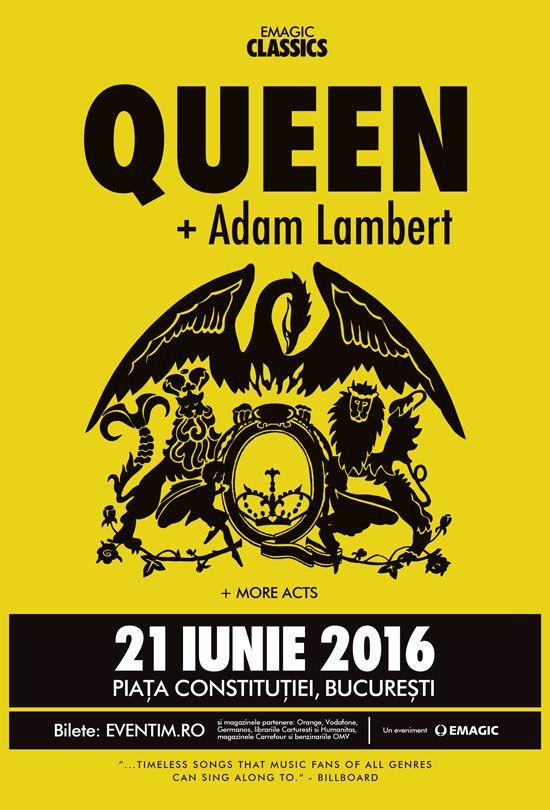 Queen & Adam Lambert, 21 June 2016, Bucharest