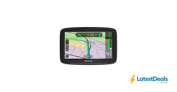 "TomTom via 52 5"" Sat Nav UK Europe Lifetime Traffic Map Updates Bluetooth, £99.99 at ebay"
