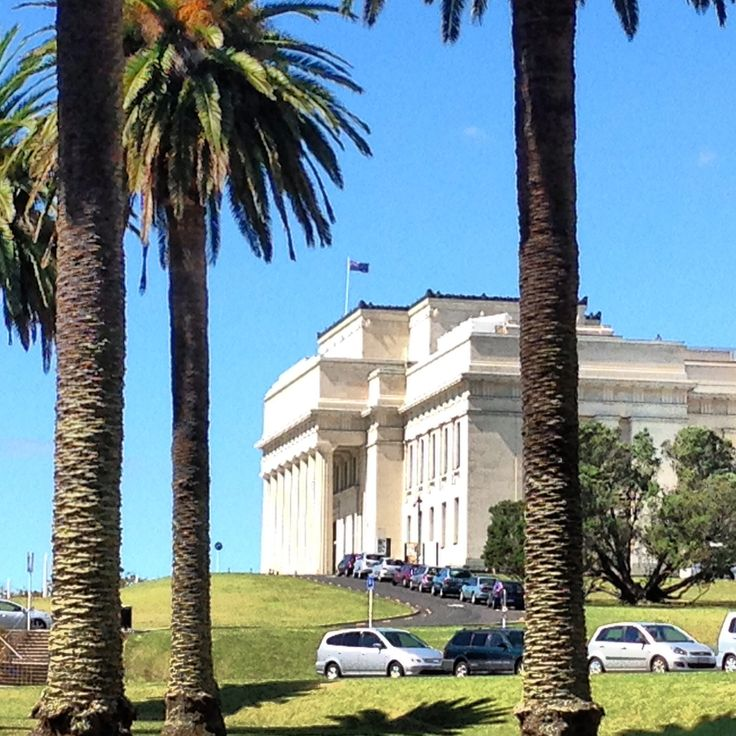 The War Memorial in the Auckland Domain