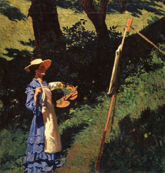 Karoly Ferenczy: The Painter (1903)