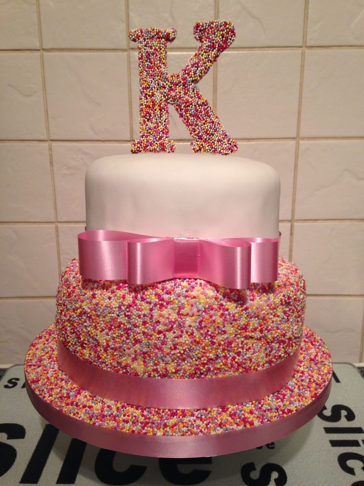 Cake Ideas With Large Sprinkles