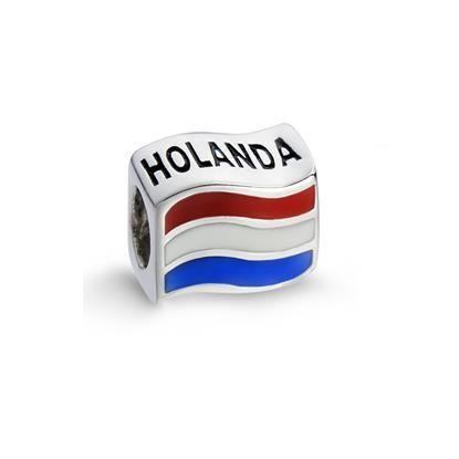 Pingente Bandeira da Holanda Life