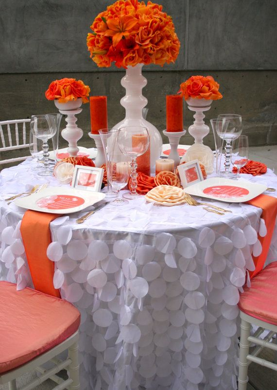 138 Best Table Linens Images On Pinterest | Tablecloths, Marriage And  Wedding