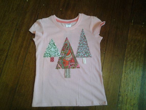 Hey, I found this really awesome Etsy listing at https://www.etsy.com/au/listing/253264112/size-4-pink-t-shirt-3-christmas-tree