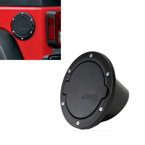 Fuel Cap noir acier inoxydable ABS gaz porte couverture digne des Jeep Wrangler JK Mopar 07   15 vente chaude dans Couvercles de réservoir de Automobiles et motocyclettes sur AliExpress.com | Alibaba Group