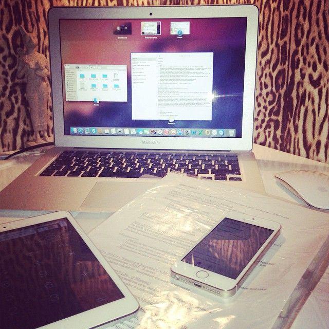 Когда работа в радость:) #работа #офис #яблочки #Padgram