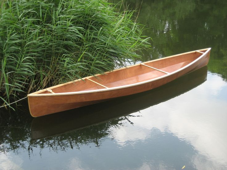 Boat-designs with a hull made of one single sheet of plywood (244 x 122 cm).