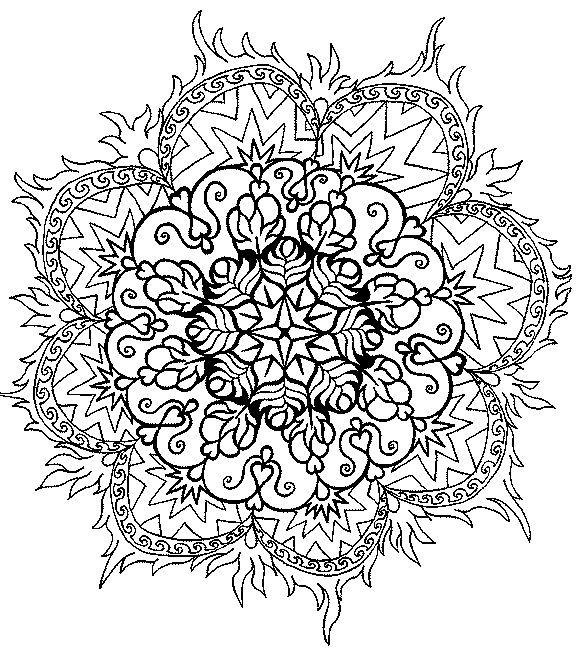 17 Best images about Mandalas on Pinterest  Coloring ...
