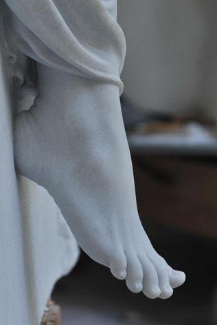 Cicero D'avila -Detail form one of his sculptures.