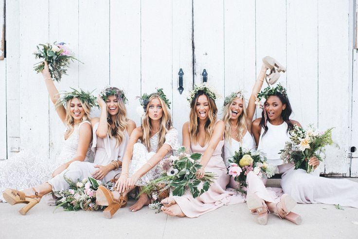 Bridal Party Babes in Mu!