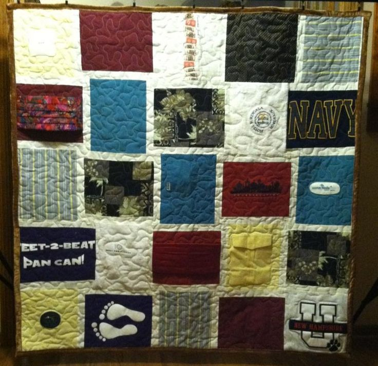 Free Easy Memory Quilt Patterns : 1000+ images about Quilting - Memory / T-shirt Quilts on Pinterest Baby clothes quilt, Quilt ...