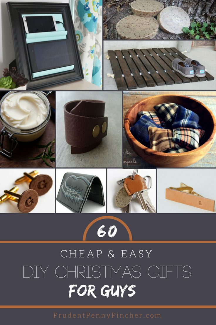 60 Cheap & Easy DIY Christmas Gifts for Guys