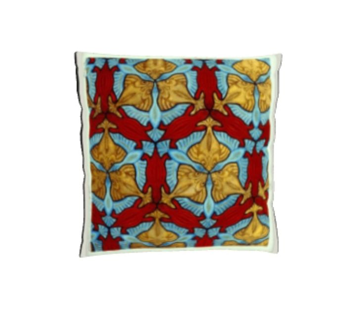 Stingray/Turtle pattern cushion