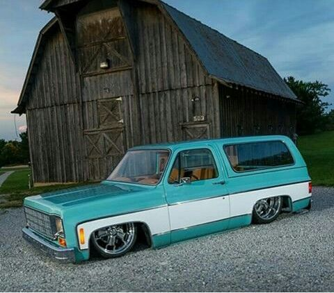 '79 Chevy Blazer two-tone