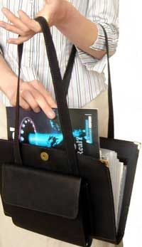 Magazine and Tract Tote - This looks like a nice new service bag