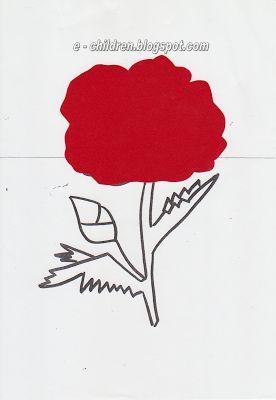 Los Niños: Ζωγραφίζοντας ένα Γαρύφαλλο στο Νηπιαγωγείο