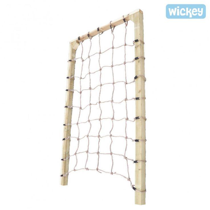 Kletternetz 150 mit Gerüst– Spielturm Anbau TarzaNet 150