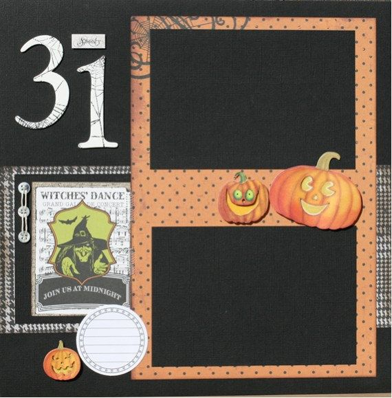 Premade Scrapbook Page 12 x 12 Double Page Layout by designstudioL, $17.99