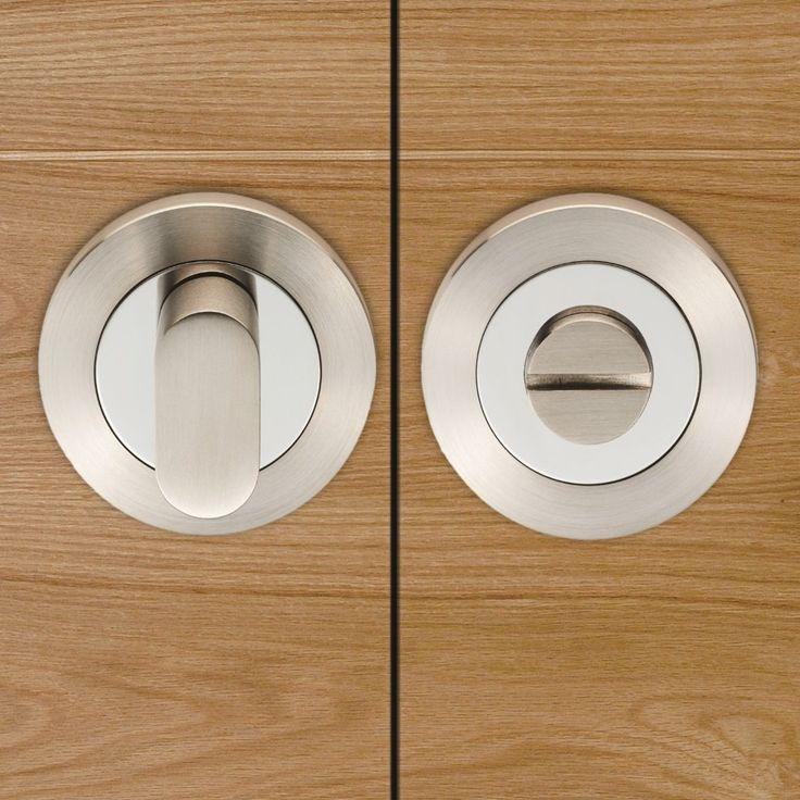 Steelworx SWT1016 Bathroom Thumb Turn & Release. #bathroomturns #bathroomlock #designerbathroomlock