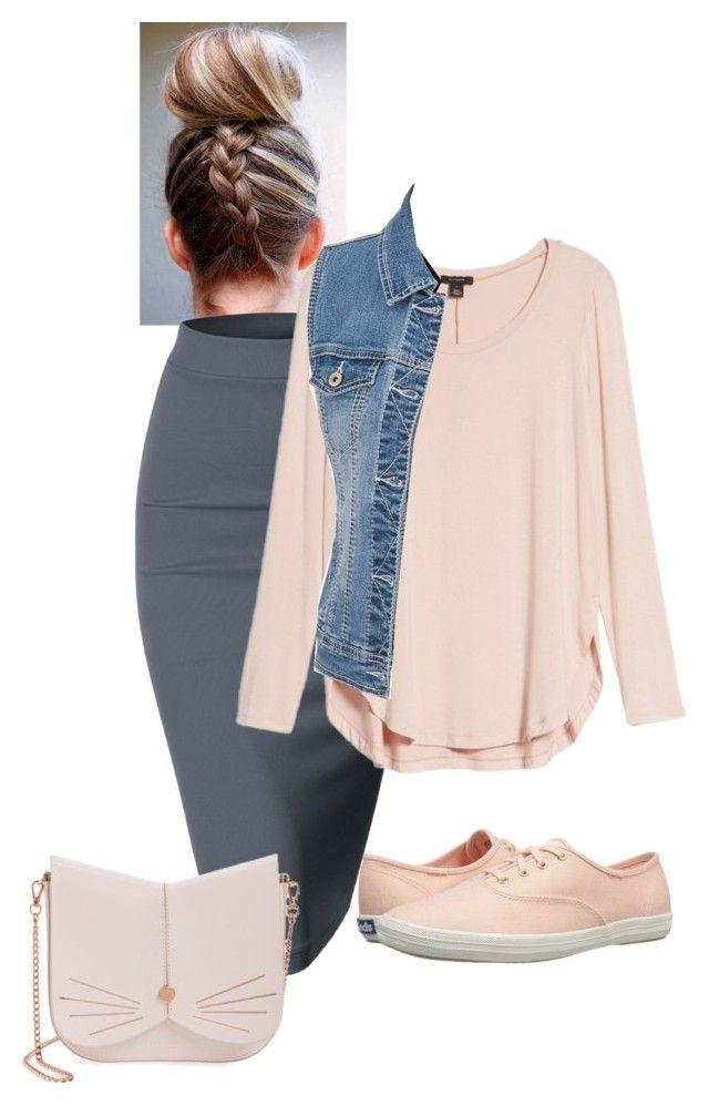 """""""Lovey"""" by ohraee019 on Polyvore featuring Doublju, Halogen, Keds, maurices and Ted Baker"""