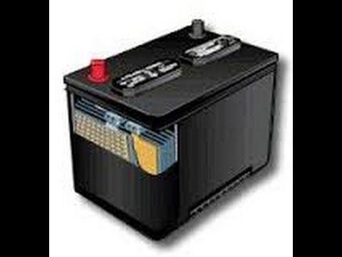 Como reparar una bateria con sal y agua facil y rapido tutorial - YouTube
