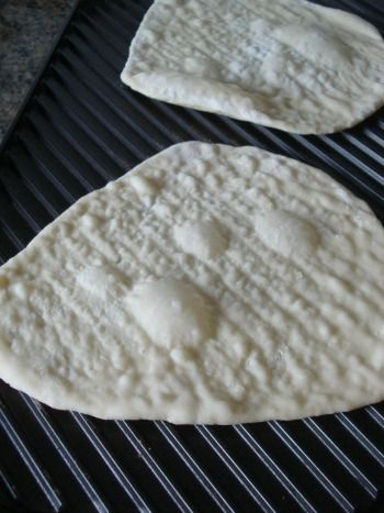 Homemade flat bread!