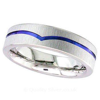 Geti Anodised Wishbone Zirconium Ring