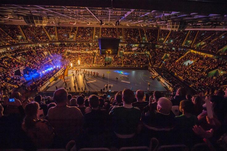 02.03.2013 Ausverkaufte SAP Arena beim Spiel gegen den HSV #Handball #RNLoewen