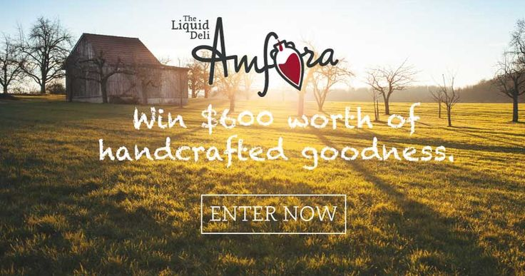 Amfora's Launch Giveaway
