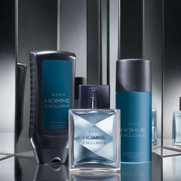 Avon Homme Exclusive Set | Avon beauty, Avon, Perfume