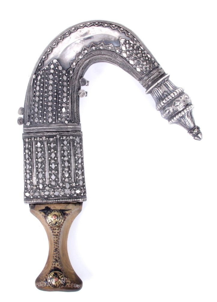 A Middle Eastern Jambiya Dagger