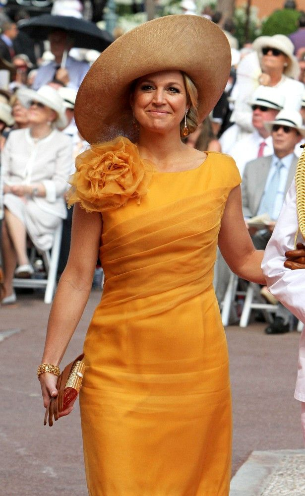Princess Maxima - European Royal Wedding Guests