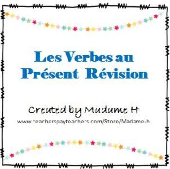 Great review for French 1 students at the end of the semester and for French 2 students at the beginning of the semster!