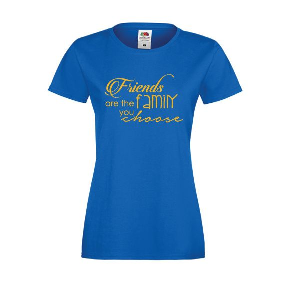 Friends are the family you choose  #friendshiptees #vriendschapshirts
