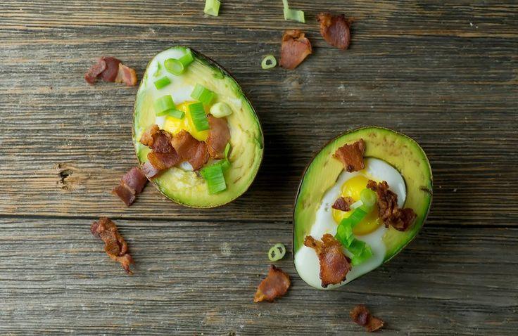 "Baked Avocado Egg ""Boats"" Recipe - Spry Living"
