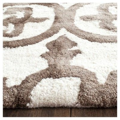 Bardaric Area Rug Ivory Brown 5 X 8 Safavieh