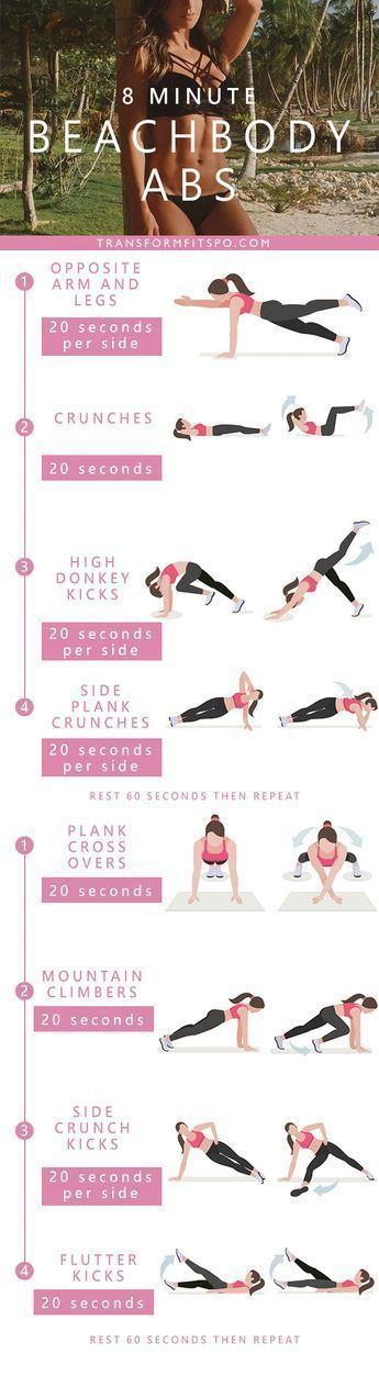 Repin and share if you like this workout! And let us know if you've tried it! #abs