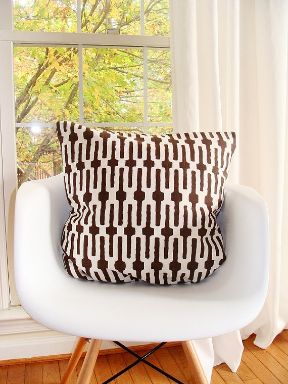 Bold Brown And White. Nursery InspirationAccent PillowsDream ...