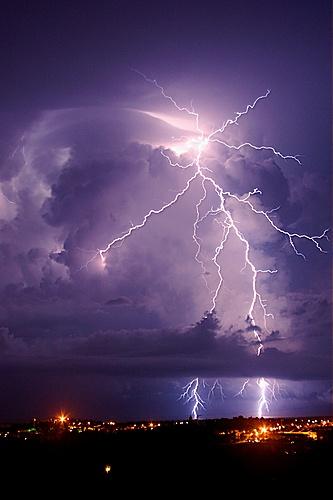 temporale sul mare di riccione  by Valter Galvani,Riccione, Province of Rimini , Emilia Romagna region Italy
