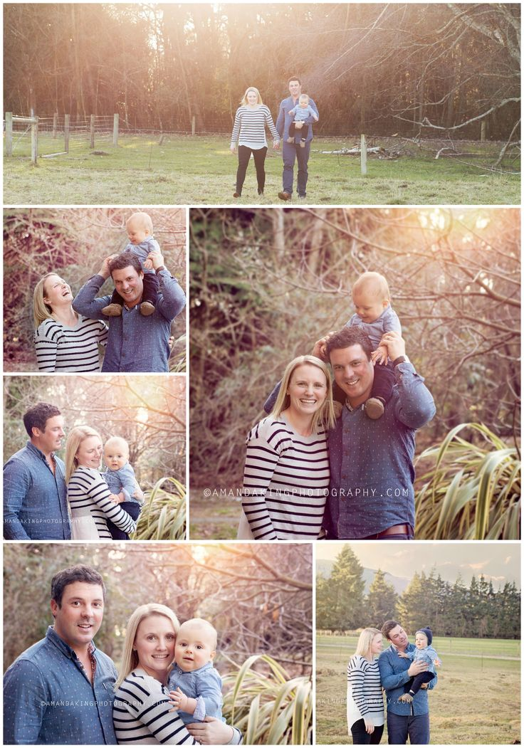 Family Photography || Golden Hour || Amanda King Photography