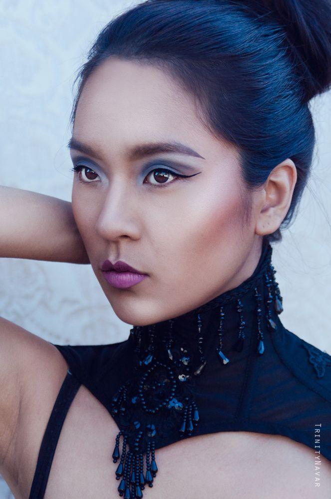 Model:- Cindy K - Model MUA:- Hello Pretty - Freelance Makeup Artist Collar:- FORGE Photography:- Trinitynavar — with Cindy Kim, FORGE and Hello Pretty