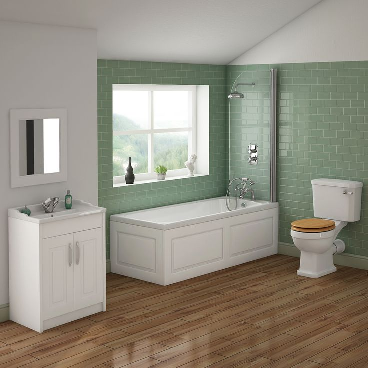 Discover Our Beautiful York Traditional Bathroom Suite Online. Perfect For  Period Settings. Numerous Colours Are Available. Now At Victorian Plumbing.