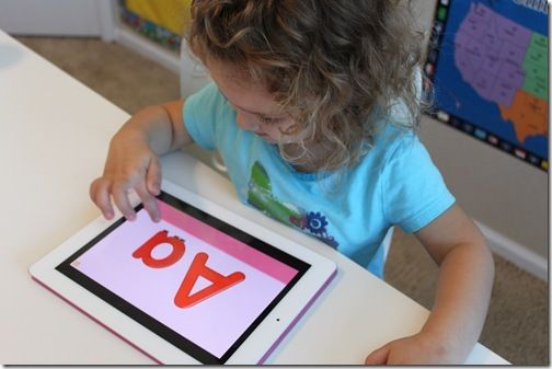 iPad educational apps for preschoolers
