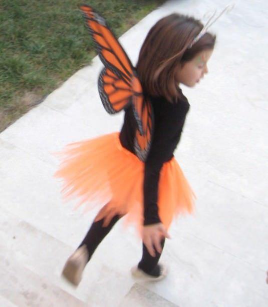 Instrucciones detalladas para hacer un disfraz de mariposa monarca ...