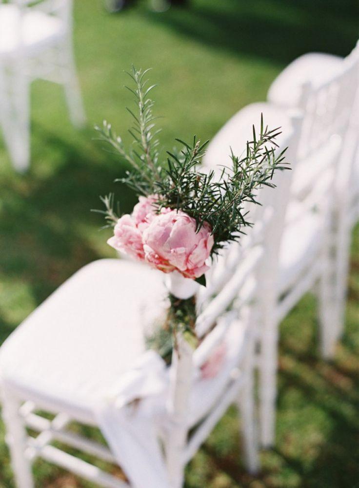 Decoración de sillas con flores | Rosa Clará
